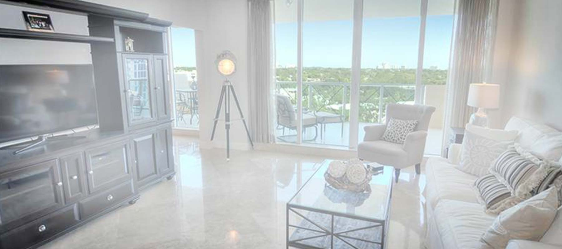 Deerfield Beach condo painting